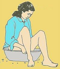 bain de siege femme