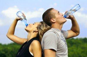 Boire suffisamment d'eau