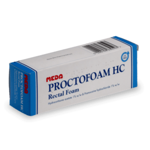 Solution anti hémorroide Proctofoam HC