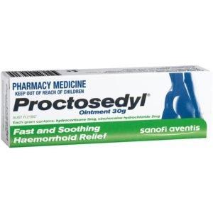 Proctosedyl: traiter les hémorroïdes en un simple geste
