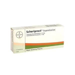 Traitement anti-hémorroides : Scheriproct