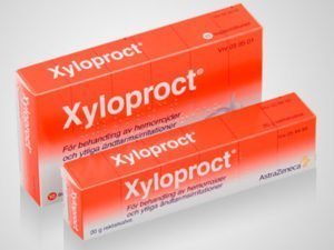 pommade xyloproct