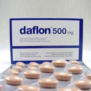 comprimés daflon 500 mg