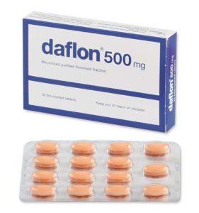 comprimés daflon