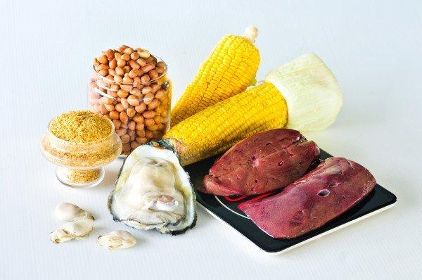 Des aliments riches en zinc